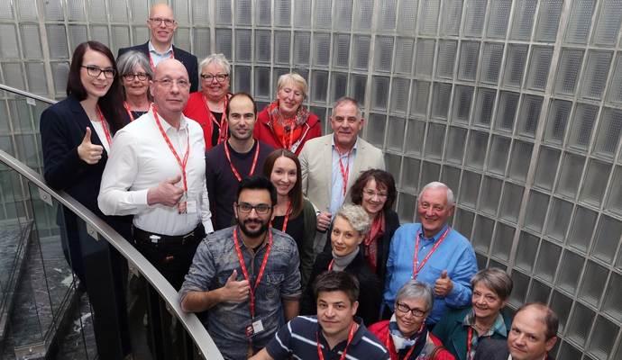 Geschlossenheit nach teilweise zähem Ringen: SPD stellt Wahlprogramm vor