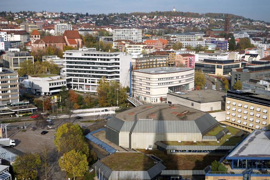 Rathaus Stadthalle Bibliothek