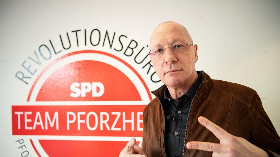 "SPD-Kandidat Uwe Hück eröffnet ""Revolutionsbüro"""
